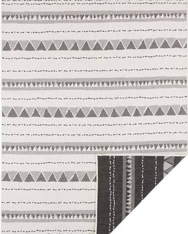 Černo-krémový venkovní koberec Bougari Bahamas, 160 x 230 cm