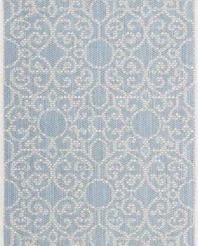 Modro-béžový venkovní koberec Bougari Nebo, 70 x 200 cm