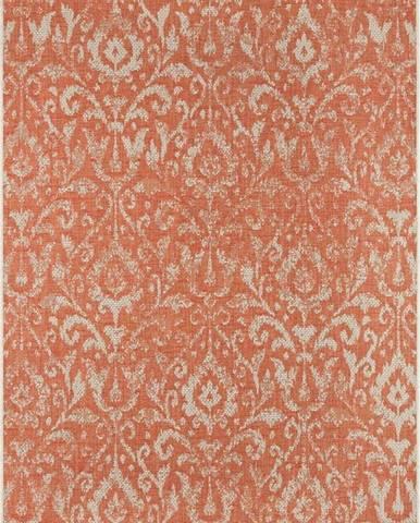 Oranžovo-béžový venkovní koberec Bougari Hatta, 200 x 290 cm