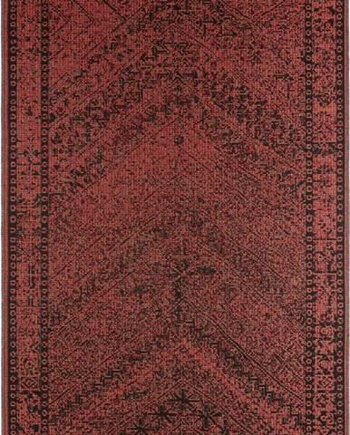 Tmavě červený venkovní koberec Bougari Mardin, 200 x 290 cm