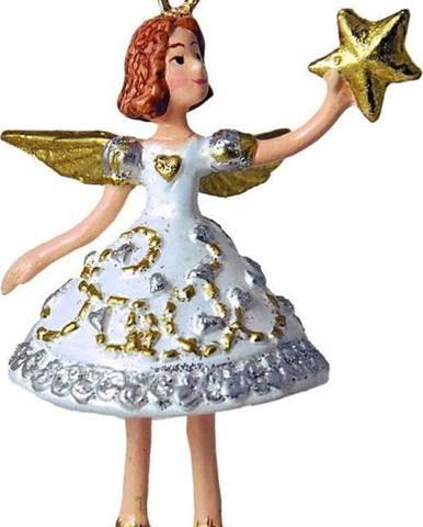 Vánoční závěsná dekorace G-Bork Angelic