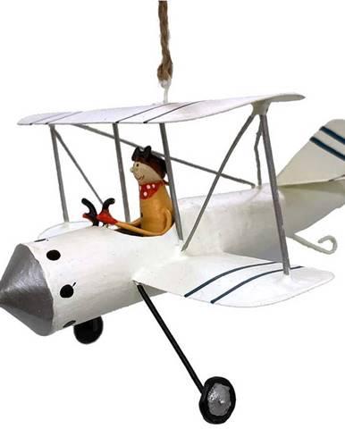 Vánoční závěsná dekorace G-Bork Pilot in Plane