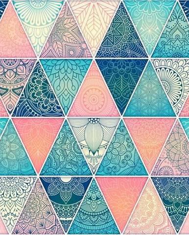 Velkoformátová tapeta Artgeist Oriental Triangles,200x140cm