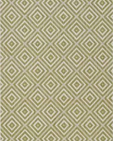 Zelený venkovní koberec Bougari Karo, 80x200cm