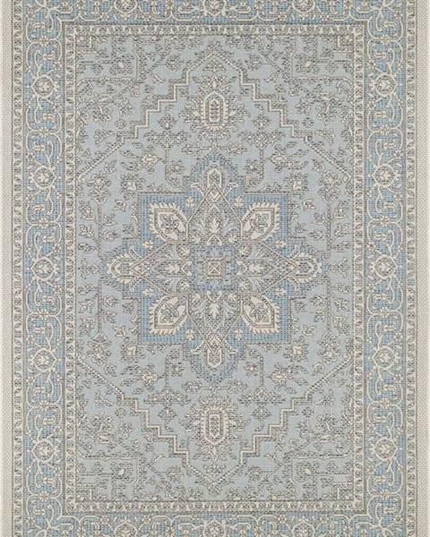 Bougari Modro-béžový venkovní koberec Bougari Anjara, 140 x 200 cm