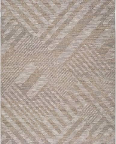 Béžový venkovní koberec Universal Devi, 80 x 150 cm