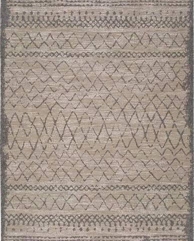 Béžový venkovní koberec Universal Devi Line, 160 x 230 cm