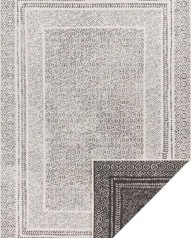 Černo-bílý venkovní koberec Ragami Berlin, 200 x 290 cm