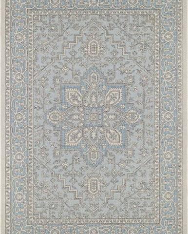 Modro-béžový venkovní koberec Bougari Anjara, 140 x 200 cm