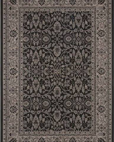 Černo-béžový venkovní koberec Bougari Konya, 200 x 290 cm