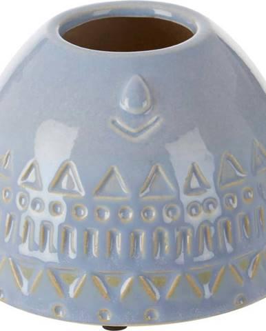 Modrá váza z kameniny Premier Housewares Mimo
