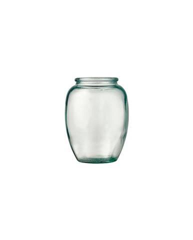 Zelená skleněná váza Bitz Kusintha,ø10cm