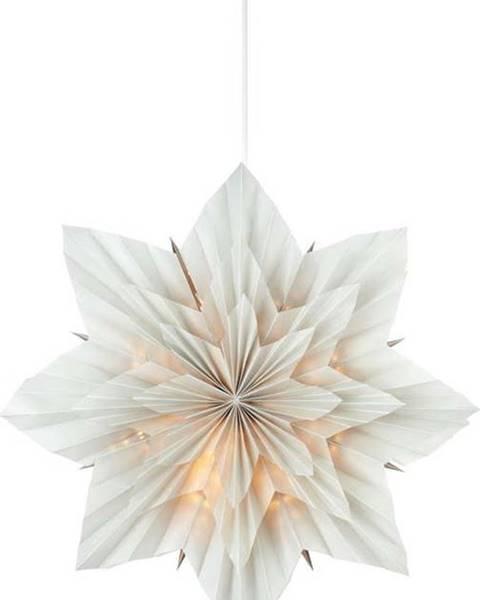 Markslöjd Šedá vánoční závěsná světelná dekorace Markslöjd Neela,výška45 cm