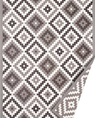 Béžový oboustranný koberec Narma Saka, 80 x 250 cm