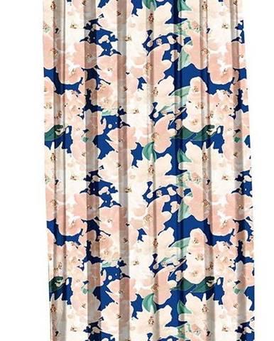 Modro-růžový závěs Mike & Co. NEW YORK Honey Blossom,140x270cm