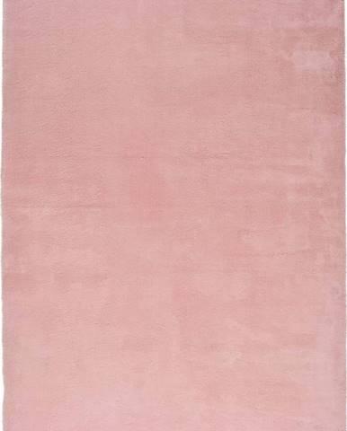 Růžový koberec Universal Berna Liso, 190 x 290 cm