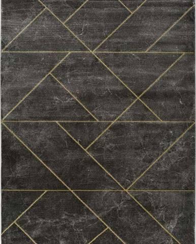 Tmavě šedý koberec Universal Artist Line, 120 x 170 cm