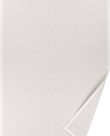 Bílý oboustranný koberec Narma Kalana White, 100 x 160 cm