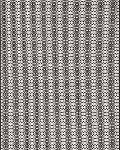 Černo-bílý venkovní koberec Bougari Coin, 140x200cm