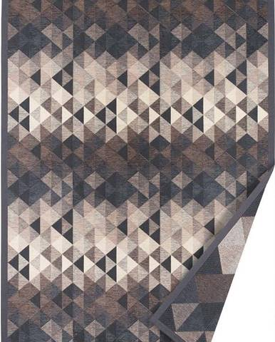 Šedý oboustranný koberec Narma Kiva, 140 x 200 cm