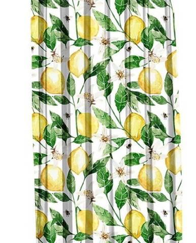 Závěs Mike & Co. NEW YORK Lemons,140x270cm