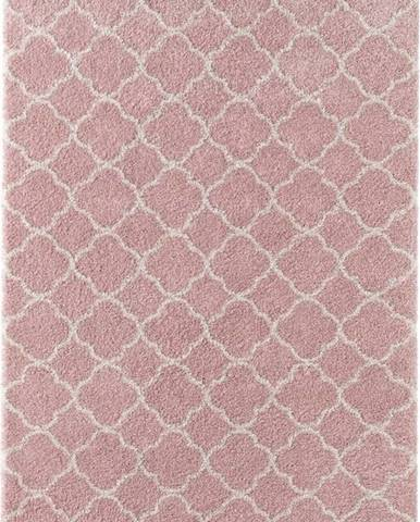 Růžový koberec Mint Rugs Luna, 160x230cm