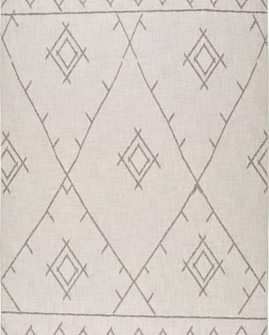 Béžový koberec Universal Lino Line, 140 x 200 cm