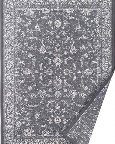 Šedý oboustranný koberec Narma Sagadi, 80 x 250 cm