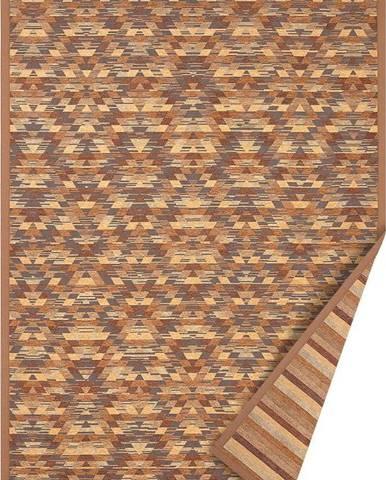 Hnědý oboustranný koberec Narma Vergi, 160 x 230 cm