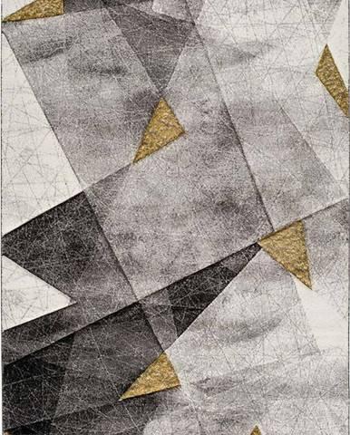 Šedo-žlutý koberec Bianca Grey, 140 x 200 cm