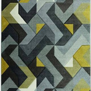 Zeleno-šedý koberec Flair Rugs Aurora, 160 x 230 cm