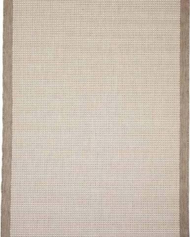 Béžový venkovní koberec Floorita Chrome, 135 x 190 cm