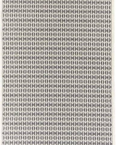 Černý venkovní koberec Floorita Stuoia, 194 x 290 cm