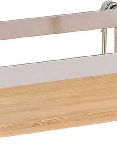Nástěnná police do kuchyně Wenko Turbo-Loc®, šířka 25 cm