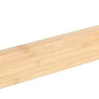 Bambusový nástěnný držák na ručníky Wenko Light, šířka 40 cm