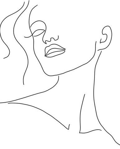 Plakát na kvalitním papíře Veronika Boulová Abstract, 29 x 41 cm