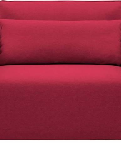 Červené rozkládací křeslo Softline Cord