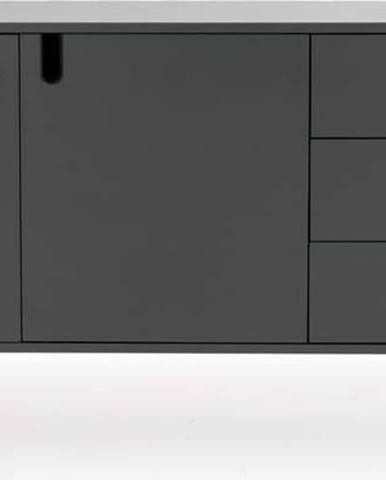 Šedá komoda Tenzo Uno, šířka 171cm