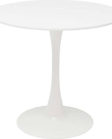 Bílý jídelní stůl Kare Design Schickeria, ⌀ 80 cm