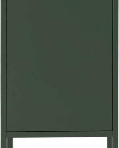 Tmavě zelená skříň Tenzo Uno, šířka 40cm