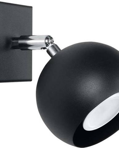 Černé nástěnné svítidlo Nice Lamps Ollo