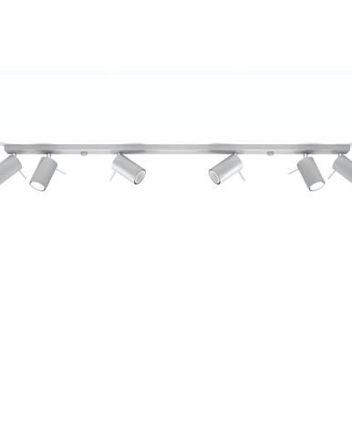 Šedé stropní svítidlo Nice Lamps Etna 6L