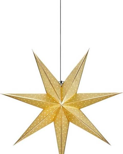 Markslöjd Vánoční závěsná dekorace ve zlaté barvě Markslöjd Glitter,délka75cm