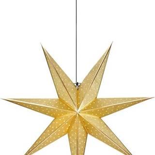 Vánoční závěsná dekorace ve zlaté barvě Markslöjd Glitter,délka75cm