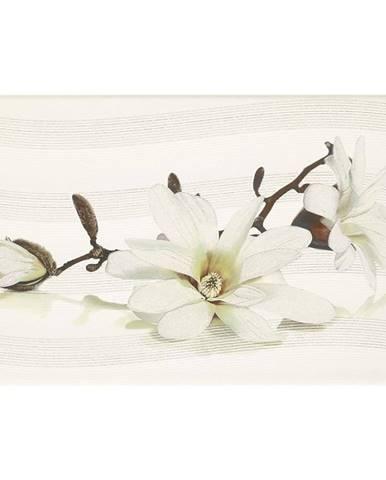 Dekor Lira white inserto flower 25/40