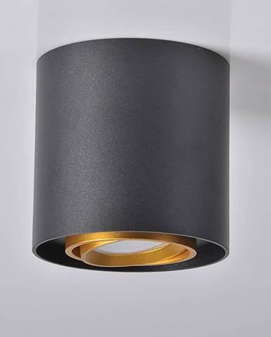 Svitidlo Eger 313973 černé a zlaté GU10 LW1
