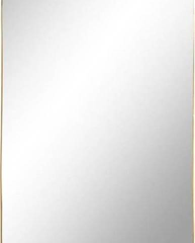 Nástěnné zrcadlo s rámem ve zlaté barvě House Nordic Jersey, 35 x 80 cm