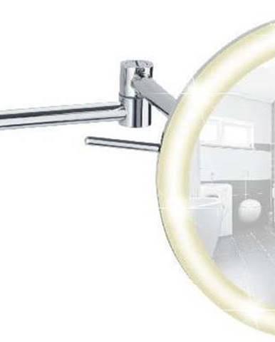 Nástěnné zvětšovací zrcadlo s LED osvětlením Wenko Power-Loc Aura