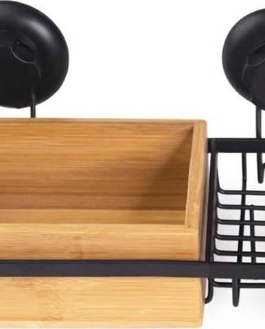 Bambusová samodržící koupelnová polička Compactor SPA