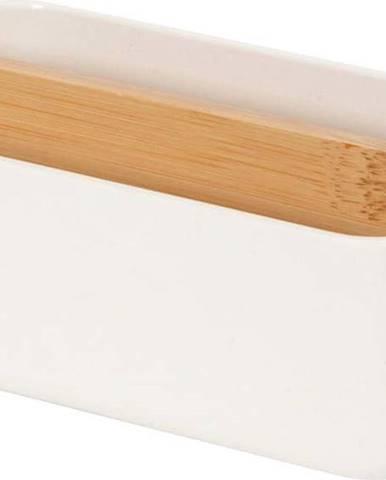 Bílý koupelnový organizér Compactor Ecologic,15x7,9cm